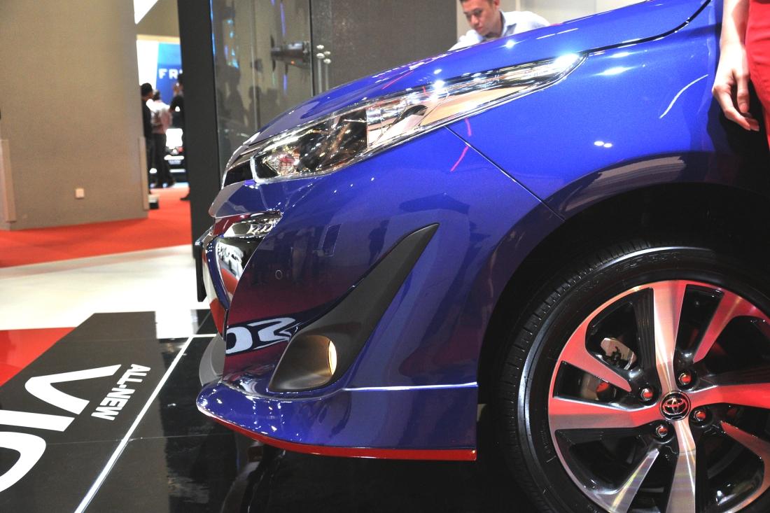 All New Toyota Vios Previewed At 2018 Kuala Lumpur International