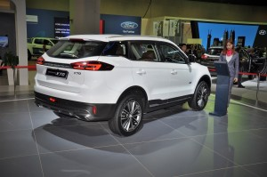 Proton X70 SUV Preview_Rear View_Malaysia 2018