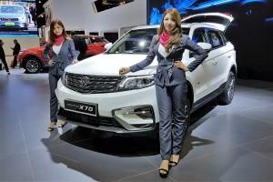 Proton X70 Snow White_Display_Kuala Lumpur International Motor Show_2018