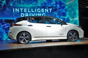 Nissan Leaf_Side View_Edaran Tan Chong Motor_KLIMS 2018_Malaysia