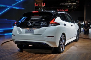 Nissan Leaf EV_Rear_KLIMS 2018_Malaysia