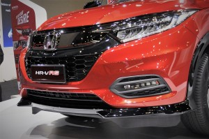 Honda HR-V RS_Solid Wing Face_KLIMS 2018_Malaysia