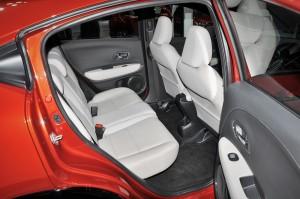 Honda HR-V RS_Rear Seats_KLIMS 2018_Malaysia