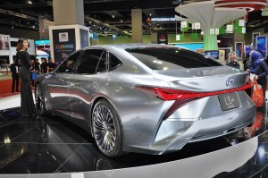 Lexus LS+ Concept Car_Rear_KLIMS 2018_Malaysia