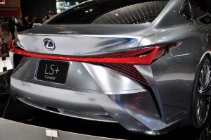 Lexus LS+ Concept_Rear Lights_KLIMS 2018_Malaysia