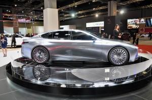 Lexus LS+ Concept_Side View_KLIMS 2018_Malaysia