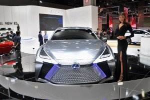 Lexus LS+ Concept_Spindle Grille_KLIMS 2018_Malaysia
