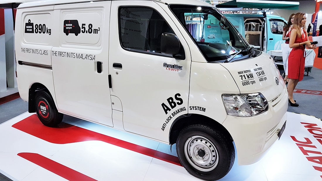 8ef5bc85a9 Daihatsu Malaysia Shows Versatility Of Gran Max Panel Van At KLIMS ...