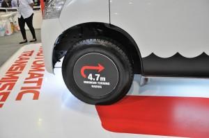Daihatsu Gran Max Panel Van_Turning Radius_KLIMS 2018_Malaysia