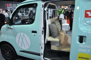 Daihatsu Gran Max Panel Van_MUMU Scarves_Mobile Boutique_Interior_KLIMS 2018_Malaysia