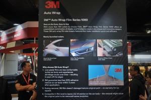 3M Auto Wrap Film Series 1080_Info Board_KLIMS 2018_Malaysia