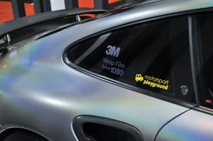 3M Auto Wrap Film Series 1080_Porsche_Display_Motorsport Playground_KLIMS 2018_Malaysia