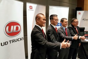 UD Trucks, Steve Hedouin, Tan Chong Industrial Equipment Senior Management, Malaysia