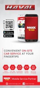 HAVAL_ MAXX 'N GO App_Malaysia