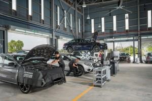 Mercedes-Benz Hap Seng Star Setia Alam Autohaus_Work Bays_Malaysia