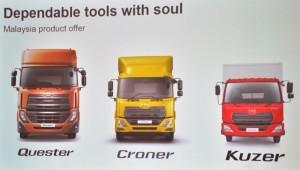 UD Trucks_Malaysia_Product Range_Quester_Croner_Kuzer