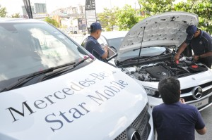Cycle & Carriage Bintang, Mercedes-Benz Star Mobile Service, Technicians