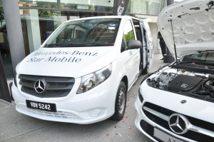 Cycle & Carriage Bintang_Mercedes-Benz Star Mobile Service Launch_TREC City Store_Kuala Lumpur
