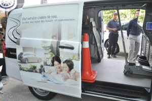 Cycle & Carriage Bintang, Mercedes-Benz Star Mobile Service, Vito Van, Malaysia