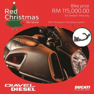 Diavel Diesel Promo - Ducati Malaysia Red Christmas Campaign_2018