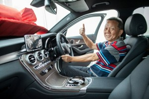 Chevron Malaysia_Caltex, Mastercard Tap & Go Promotion 2018, Grand Prize Mercedes-Benz GLC 200