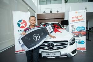 Chevron Malaysia_Caltex_Mastercard_Tap & Go Contactless Promotion_Mercedes-Benz GLC 200