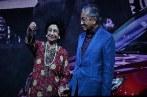 Proton X70 Launch_Dr Mahathir_Siti Hasmah_Key_Malaysia