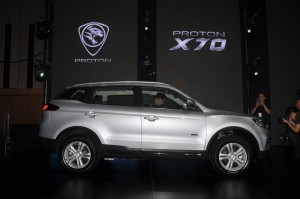 Proton X70_Standard 2WD_Side View_RM99,800_Malaysia
