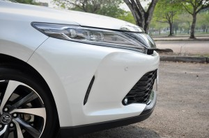 Toyota Harrier 2.0 Turbo_Nose_Malaysia_Test Drive