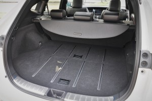 Toyota Harrier 2.0 Turbo_Luggage Space_Malaysia