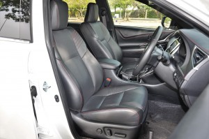 Toyota Harrier_Front Seats_Leather_Malaysia