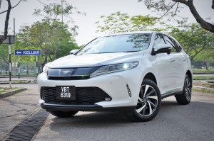 Toyota Harrier 2.0 Turbo_Front_Malaysia