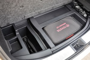 Toyota Harrier 2.0 Turbo_Emergency Kit_Tools_Storage_Boot Space_Malaysia