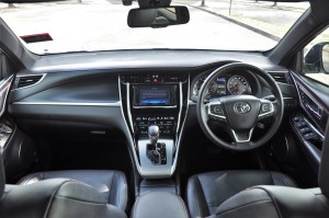 Toyota Harrier_Luxury Variant_Dashboard_Malaysia