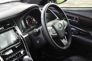 Toyota Harrier_Leather Steering Wheel_Malaysia