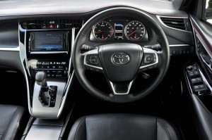 Toyota Harrier_Luxury Variant_Cockpit_Malaysia_Test Drive