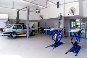 Volvo Kuching_Fotroende Automobile_3S Centre_Service Bay_Malaysia