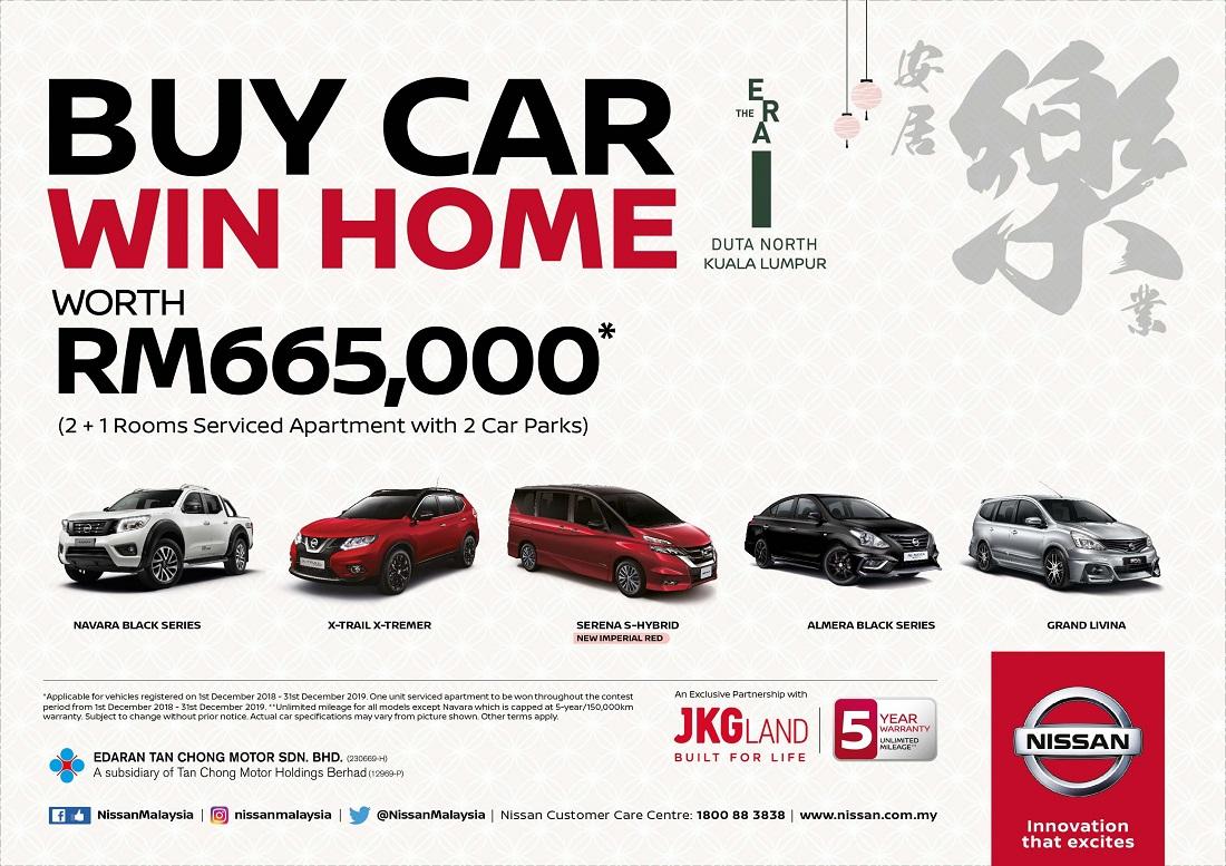 Edaran Tan Chong Motor's Nissan 'Buy Car Win Home' Contest