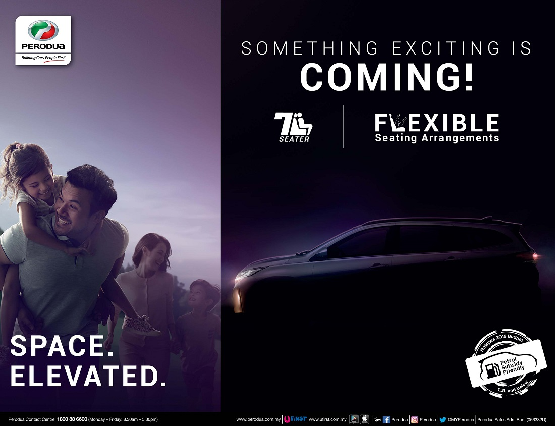 Perodua Aruz Suv Now Open For Booking Official Launch Soon