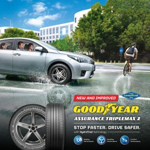Goodyear Assurance TripleMax 2 with HydroTred Technology_Malaysia