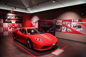 Ferrari Museum_ Ferrari 430_scuderia_Michael 50
