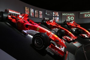 Ferrari Museum_Michael_50_F1 Cars_Display