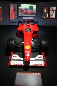 Ferrari Museum_F1-2000_Display