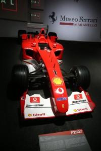 Ferrari Museum_F2002_Display