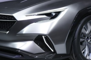 Subaru VIZIV Tourer Concept_Front_Display