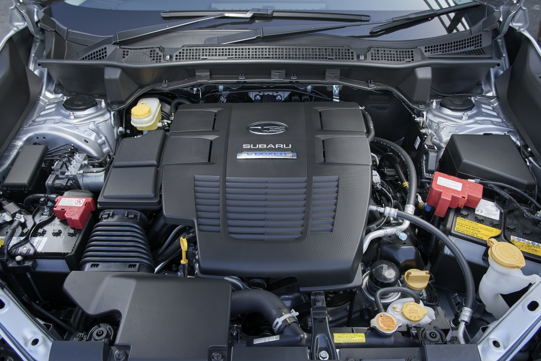 subaru boxer forester motor engine hybrid drive launched singapore fb20 electric torque impression petrol