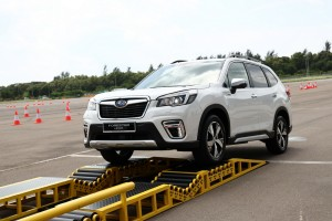 Subaru Forester e-Boxer_Demonstration