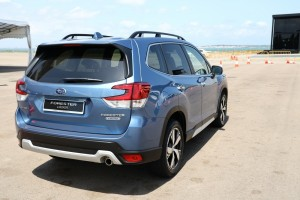 Subaru Forester e-Boxer_Hybrid_Rear View