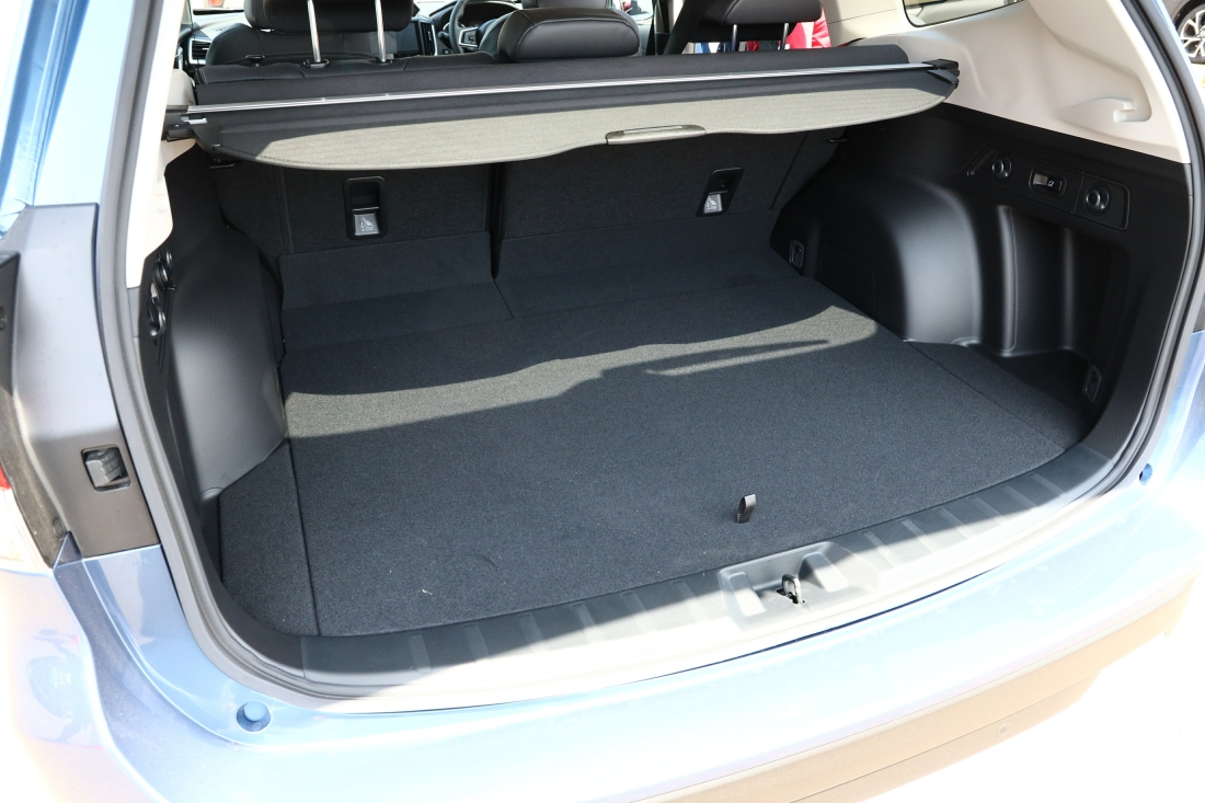 Subaru Forester Cargo Space >> Subaru Forester e-Boxer Hybrid Launched At 2019 Singapore ...