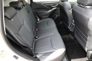 Subaru Forester e-Boxer_Rear Seats